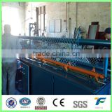 Hot dipped,galvanized chain link fencing machine ,roll out,pound in ground,sport,football machine (China Factory)