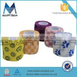 5cmX5m Colored Printed Therapy Sports Tape Creative Waterproof Pre cut Muscle Kinesiology