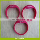2016 Factory Price Promotional Party/Event/Concert Outdoor Running Motion/Sound Activated Custom Silicone Led Bracelet