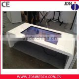 computer desk touch advertising player lcd screen touch advertising player table display network player
