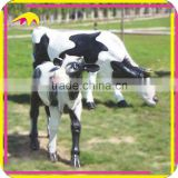 KANO6064 Exhibition Life-Size Realistic Mechanical Cow For Sale