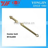 China manufacturer hex or round or customized head center bolt for truck trailer high strength bolts 10.9