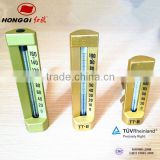 Angle type industrial glass tube thermometer for wholesale