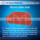 INQUIRY ABOUT factory price hot stamping silicon rubber sheet silicone rubber sheet