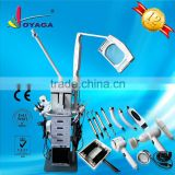 Microdermabrasion + skin scrubber + high frequency + photon + BIO +Galvanic + woods lamp + ozone 19 in 1 beauty machine