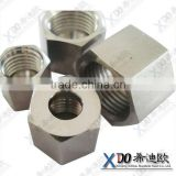 Nickel-base alloy Monel K-500 /2.4375 stainless steel fasteners hex heavy nuts Monel400