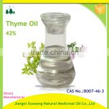 OEM/ODM Pure Thyme Essential Oil therapeutic grade for aroma massage oil