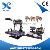 Factory Direct Digital Combo Function 8IN1 Sublimation Printing Heat Press Machine Printing Machine Heat Transfer Printer