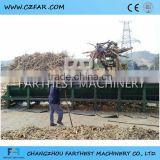 China Roller Shaft Log Stripper Machine For Removing Tree Bark