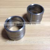 air compressor spare parts of high precision steel sleeve spacer