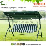 Outdoor Green Waterproof Fabric Cover Swing Chair for Sale
