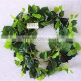 vertical garden wall hanging 240cm Long cheap make fake recycling plastic PE Boston ivy vine artificial plant EMX10 3006
