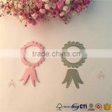 craft die cut purple flower for Paper scrapbook christmas ornaments decorations new year price