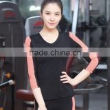 athletic apparel women tops fitness, long sleeve sport tees women, womans custom workout wear