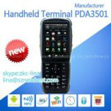 3.5 inch handheld PDA with 1D/2D barcode scanner android mobile PDA