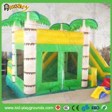 forest bounce house, bouce castle with slide for kids
