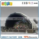 Easy folding inflatable stage cover inflatable stage cover tent