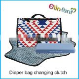 Portable Changing Station with Cushioned Changing clutch Mat