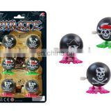 wind up jump skeleton ,pirate toy set
