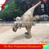 2017Artificial realistic dinosaur costume for sale