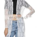 Beautiful Tie Neck All Over Lace Cover Up for women