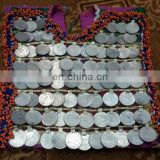 Afghan kuchi Coins Dress Patch / dress front