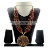 Costume Fashion Jewelry Pearl -Woman Jewelry Set Costume Jewellery-long pearl costume Jewelary set