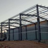 steel structure for warehouse and plant