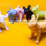 colorful animal dog cheap display mannequin
