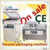 Popular semi automatic vacuum packing clothing bags machine with reasonable price SH-250