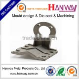 aluminum die casting sand blasting mounting equipment for wireless antenna