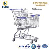 Aluminum Shopping Cart Cover For Baby With Adjustable Handle Shopping Trolley