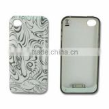 Thinnest External Backup Battery Charger Case for iPhone 4/4S, with 1,800mAh Battery