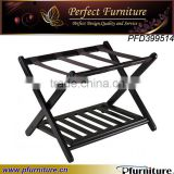 PFD399514 Wood folding hotel luggage rack
