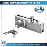 FT-250 wholesale hot gaoyao sahara glass hinge/glass clamp/glass door patch fitting lock