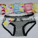 0.53USD High Quality Softy Cotton &Sexy Lace Colorful Yough Sexy Ladies Panties(sy329)