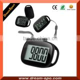 2015 Best Simple Pedomete Step Counter Promotional Calorie Walking Meter DP-878