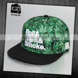 Hot hip hop 5 panel flat short brim baseball snapback cap and hat with 3D embroidery logo                                                                         Quality Choice