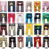 Cute Cartoon Printed Baby Pants As Toddler Warmer Tights