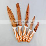 Pretty printing kitchen knives sets utility knife paring kinfe