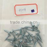 Blue white Zinc coated Chipboard Screws