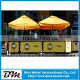 outdoor advertising banners with 2m frame