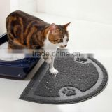 Cat Litter Trapper Mat Pet Training Pad Pet Bowl Mat
