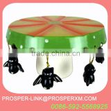 wholesale ceramic cake stand halloween