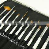 Profession brush! For professional use, set up the prefect make up, roll up set, make up set, oem factory