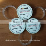 100M fluorocarbon fishing lines 100% best quality made in Germany 0.14-1.2mm clear