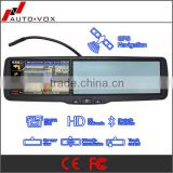 Rear view mirror with gps bluetooth handsfree car kit                                                                         Quality Choice