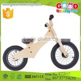 2015 New products 12 inch pneumatic tire wooden children bike