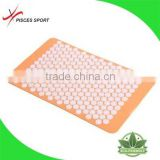 2016 new rectangle spike foot mat and pillow