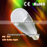 Milky PC Cover Aluminium Shell Warm White & White Taiwan Chip 9W e26/ E27/B22 LED Light, Led Bulb Light 810LM